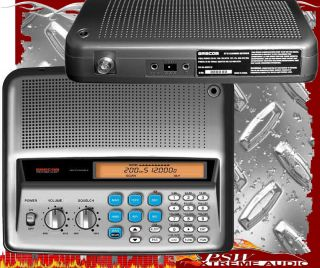 PSR200U Gre 200 Channel Base Station Analog Scanner with FM Radio
