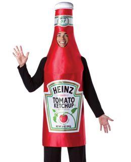 Heinz Catsup Ketchup Bottle Funny Adult Halloween Costume
