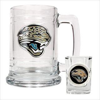 Great American Products NFL Jacksonville Jaguars Boilermaker Set