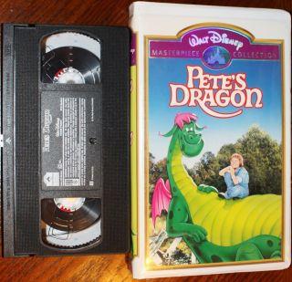 Petes Dragon starring Helen Reddy VHS Walt Disney Clamshell Case Very