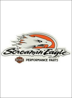 HARLEY DAVIDSON set of 2 SCREAMIN EAGLE PERFORMANCE PARTS VINYL DECAL