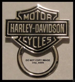 HARLEY DAVIDSON BAR SHIELD PIN WITH SUNGLASS HOLDER DISCONTINUED NO