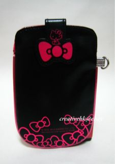 Sanrio Hello Kitty Black Mobile Cell Phone, Digital Camera  PU