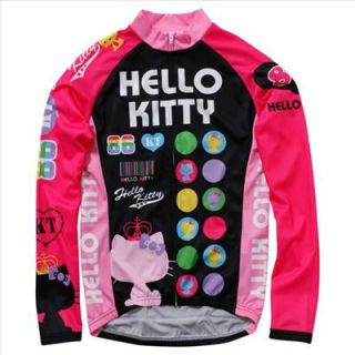 NEW Hello Kitty jersey cycle bike Japan Official Japanese S or M size