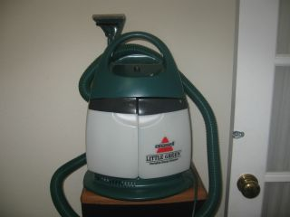 Bissell Portable Little Green Machine Plus Portable Home Cleaner model