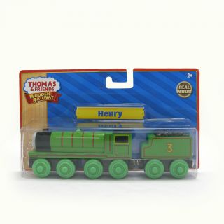 New in Box Thomas Tank Engine Wooden Henry Train