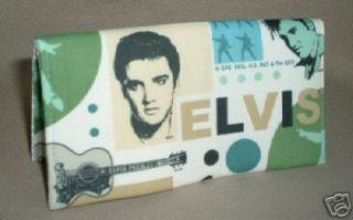 Elvis Presley The King Checkbook Cover
