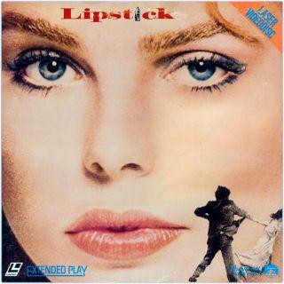 Margaux Hemingway Plays a Model Victim in LIPSTICK on HTF Laser Disc