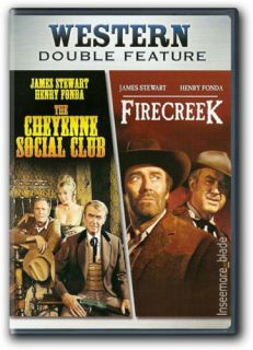 The Cheyenne Social Club Firecreek DVD New Henry Fonda James Stewart