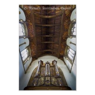 The historic 1708 Thamar organ in the medieval church of St Michael in