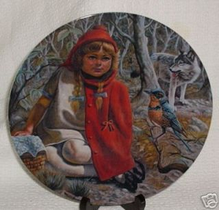 Little Red Riding Hood Plate by Gregory Perillo