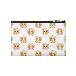 Pattern of Guinea Pigs. Travel Accessory Bag