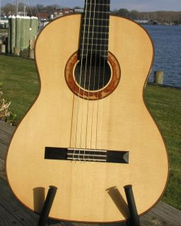 Woodley White 2009 Hauser Classical Guitar