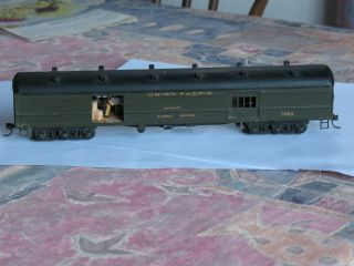 Harriman baggage UP Union Pacific custom built