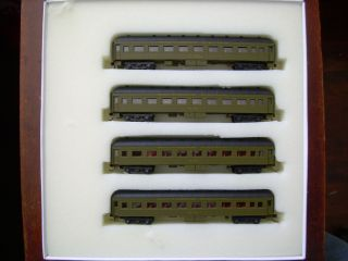 6x Southern Pacific Harriman Commuter cars. Collectors Items