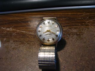 Greyhound Bus Lines 30 yrs Safe Driving Award Bulova Accutron Watch