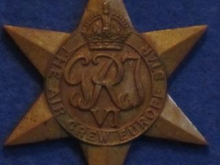 WW2 RAF Pilots Log Book Medal Group Including The Air Crew Europe Star