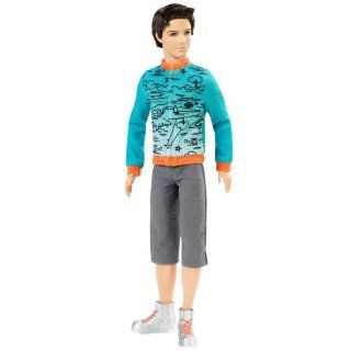 Barbie Fashionistas Ken Sporty Doll 2011 Toys & Games