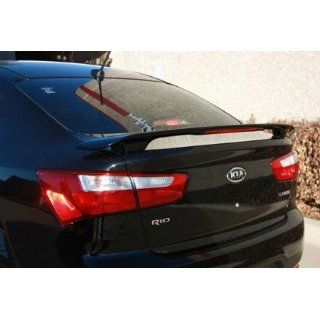 Unpainted Primer Kia Rio Spoiler 2012+ Custom Rear Wing with Light