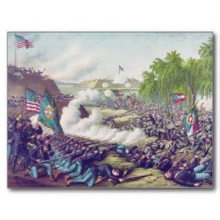 American Civil War Second Battle of Corinth 1862 Postcards