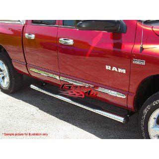 Fits 2007 2013 Toyota Tundra Crew Max Cab 4S/S Nerf Bars # TB4098S