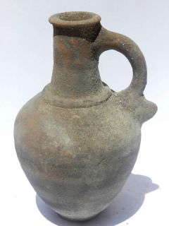 Holy Land Roman Herodian Clay Pottery Jugs Terracotta 37 BC – 70 AD
