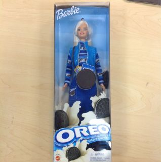 Mattel 2001 Barbie Oreo School Time Fun Doll Original Box