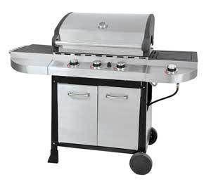 New Grillmate 50000 BTU Propane Gas Grill BBQ w Side Burner FL1560 $