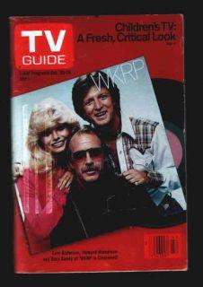 TV Guide O 1979 WKRP Gary Sandy Loni Anderson Hesseman