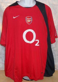 Gunners Jersey Nike EPL Total 90 Henry Van Persie Bergkamp Fabregas