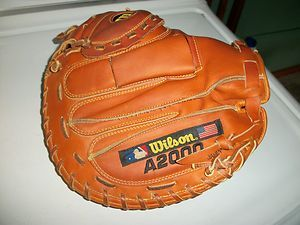 Wilson A 2000 Catchers Mitt 34 inch Used Great Shape
