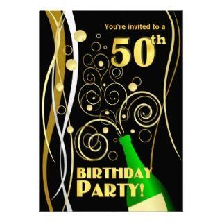 50.o Fiesta de cumpleaños   diversión y Champán fe Comunicados