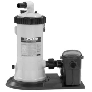 Hayward C5501575XES Above Ground Swimming Pool Cartridge Filter System