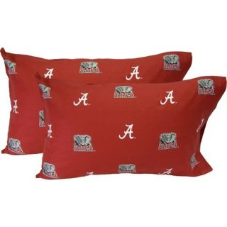 College Covers Alabama Crimson Tide Pillow Case Set ALAPCSTPR