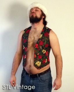 Ugly Christmas Sweater Party Vest So Tacky and Gross S
