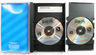 Sega CD Ground Zero Texas Video Game Complete 2 Discs with Manual Book
