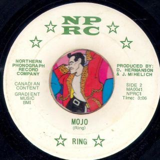 Ring Mojo RARE Michigan Group Garage Psych Rock 45 RPM Listen