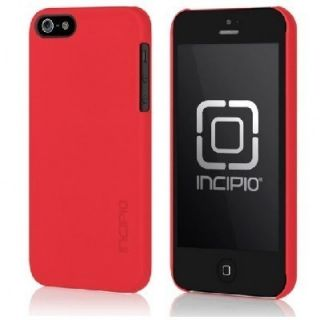 Incipio Feather Cover Case for Apple iPhone 5 Scarlet Red