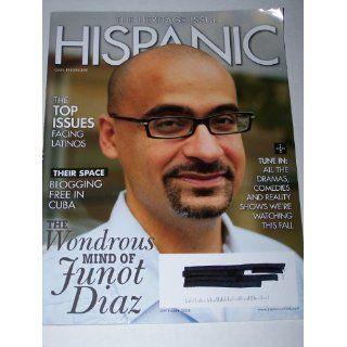 Hispanic Magazine September 2008 The Wondous Mind of Junot Diaz, The