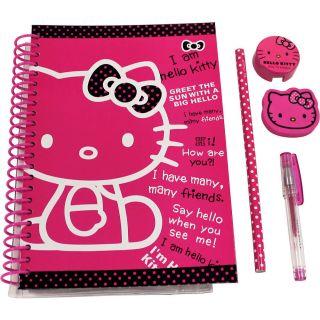 Hello Kitty Journal Stationary Set