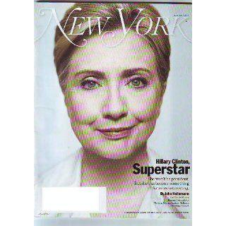 New York Magazine June 23, 2008 Hillary Clinton Cover Various