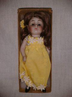 JDK Kestner Sleepy Eye Prize Baby All Bisque Doll #208 Germany Pre