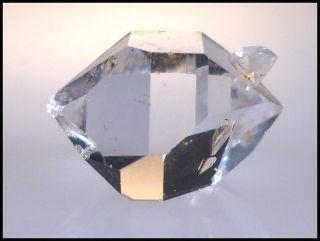 Herkimer Diamond Quartz Crystal Bridge Specimen 7 00 cts 14 08 mm AAA