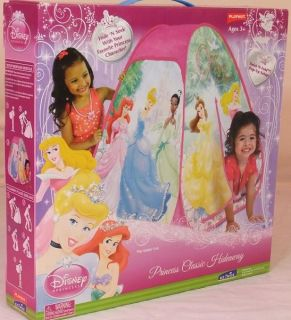 Disney Princess Playhut Hideaway Play Tent Twist N Fold