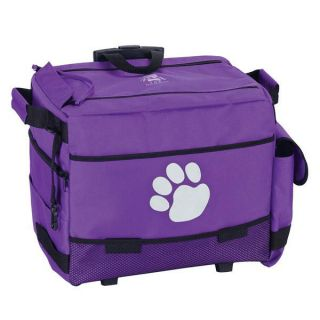 Top Performance Dog Groomers Grooming Rolling Tote Bag Storage