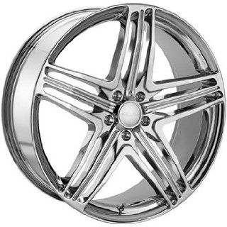 Menzari Z12 22x8.5 Chrome Wheel / Rim 5x115 with a 35mm Offset and a