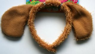 NEW Cute Dog Ears Kids Headband Girls Boys Childrens Party Costume