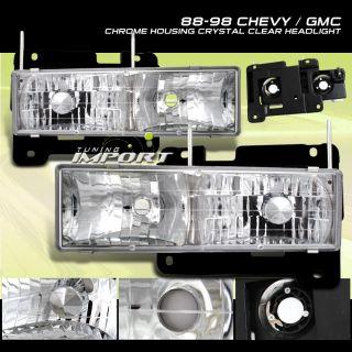Headlight Assembly GMC K1500 Suburban 92 99 98 97 96 95