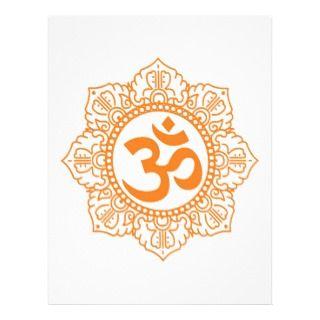 Om   Ohm   Aum Symbol Letterhead