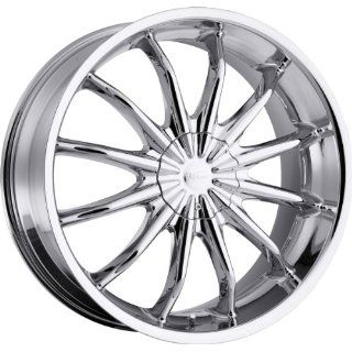 Milanni Baron 20 Chrome Wheel / Rim 5x115 & 5x120 with a 15mm Offset